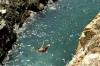 Mexique : concours de plongeon sur les falaises d'Acapulco
