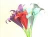 Créer un bouquet d'iris en origami