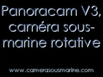 Camera sous-marine rotative