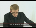 Dominique Perben - Plus de places dans les prisons?