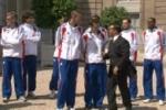 Athlétisme: les médaillés de l'Euro 2010 reçus à l'Elysée