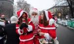 Italie : 5 km de course déguisés en père Noël