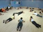 Une séance de gym suédoise