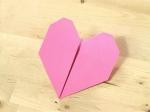 Créer un coeur en papier